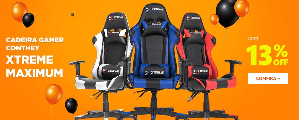 Cadeira Gamer Conthey Xtreme Maximum