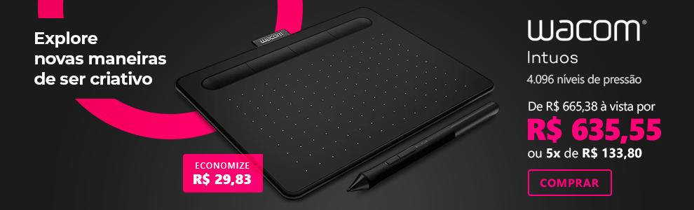 Mesa digitalizadora Wacom Tablet Intuos Creative pequena CTL4100 com 4% de desconto