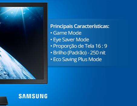 Monitor LED 21,5'' widescreen LS22E310 Samsung CX 1 UN