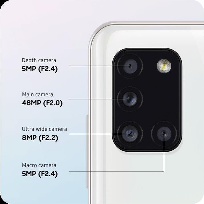 Camera Galaxy A31