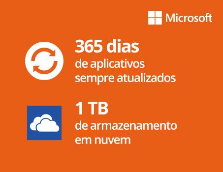 Office 365 Personal Assinatura Anual Microsoft