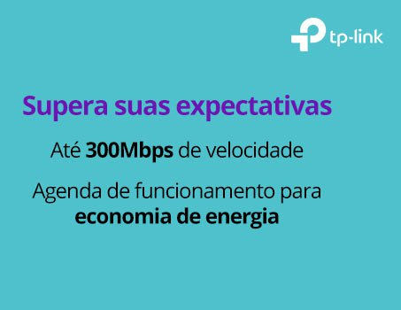 Repetidor wireless 300mbps TL-WA855RE TP-Link