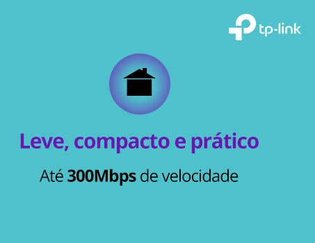 Repetidor wireless N 300mbps TL-WA850RE TP-Link