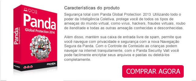 Panda anti-vírus pró 2012